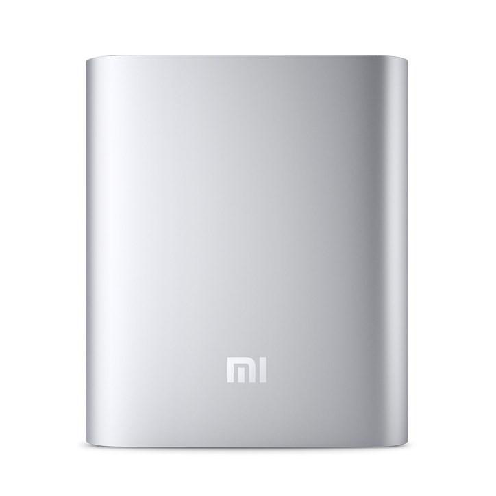 Внешний аккумулятор Xiaomi MI Metal Power Bank 10000 mAh серебро