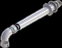 Комплект коаксиального димоходу Ariston 60/100, 1,0м