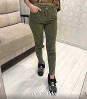 Женские стильные вельветовые джинсы (2 цвета)