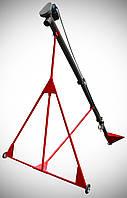 Шнековый погрузчик (винтовой конвейер) диаметром 159 мм, длиною 6 метров
