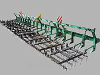 Борона пружинная легкая БПЛ-7 БК-1,0з (рама+7 борін БК-1,0з, фото 1