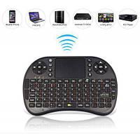 Беспроводная клавиатура с тачпадом KEYBOARD wireless MWK08/i8 + Touch, мультимедийная Wi-Fi клавиатура