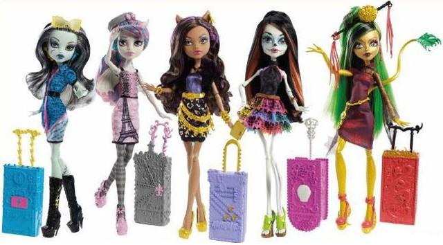 Куклы monster high (mattel) по сериям