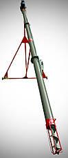 Шнековый транспортер (гвинтовий навантажувач) диаметром 159 мм, длиною 9 метров, фото 3