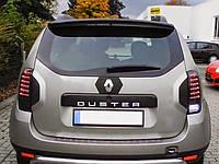 Верхний спойлер для Dacia Duster (Дачия Дастер)