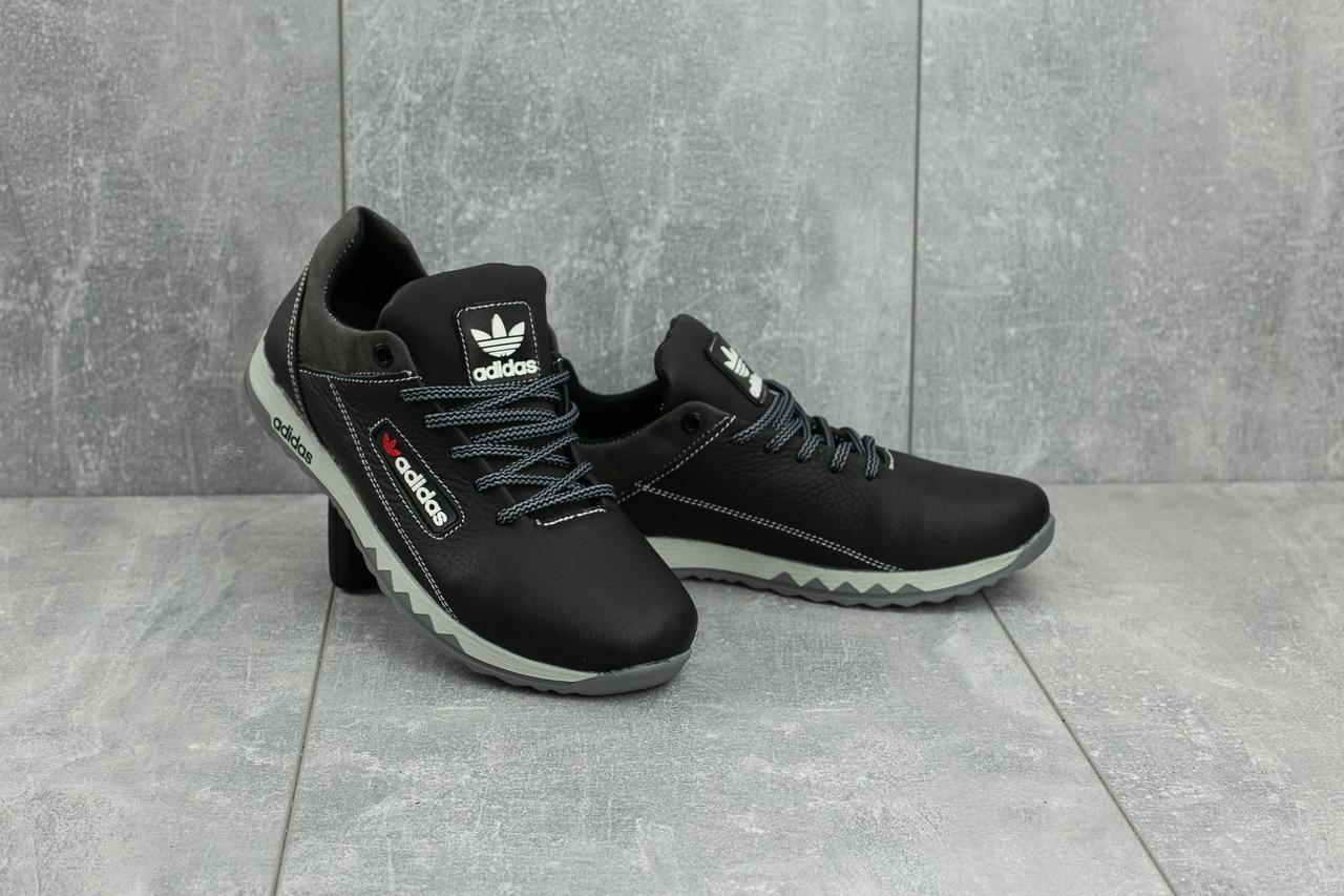 Кроссовки CrossSAV 39 (Adidas) (весна-осень, подростковые, кожа, черно 2e8f0c45028