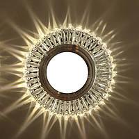 """Точечный светильник (с подсветкой """"3W"""")  Feron 7314"""
