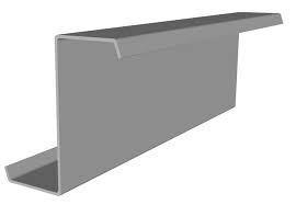 Гнутый стальной профиль Z150, тол. 2 мм