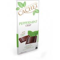 CACHET Темный шоколад с мятой, 100g Бельгия