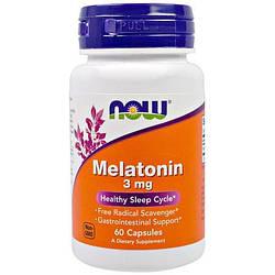 NOW Foods Melatonin 3mg 60 caps