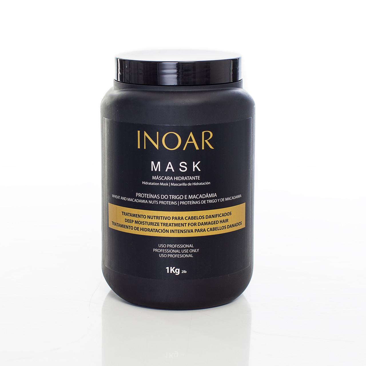 Бессульфатная маска Иноар Макадамия 1000 мл
