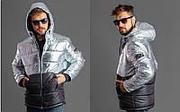 Стильная мужская Батальная куртка EA7