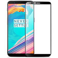 OnePlus 5T Colorful Tempered Glass Black Защитное Стекло