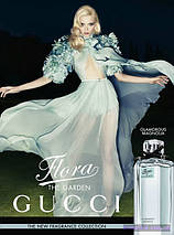 Gucci Flora by Gucci Glamorous Magnolia туалетная вода 100 ml. (Гуччи Флора Бай Гуччи Гламур Магнолия), фото 3