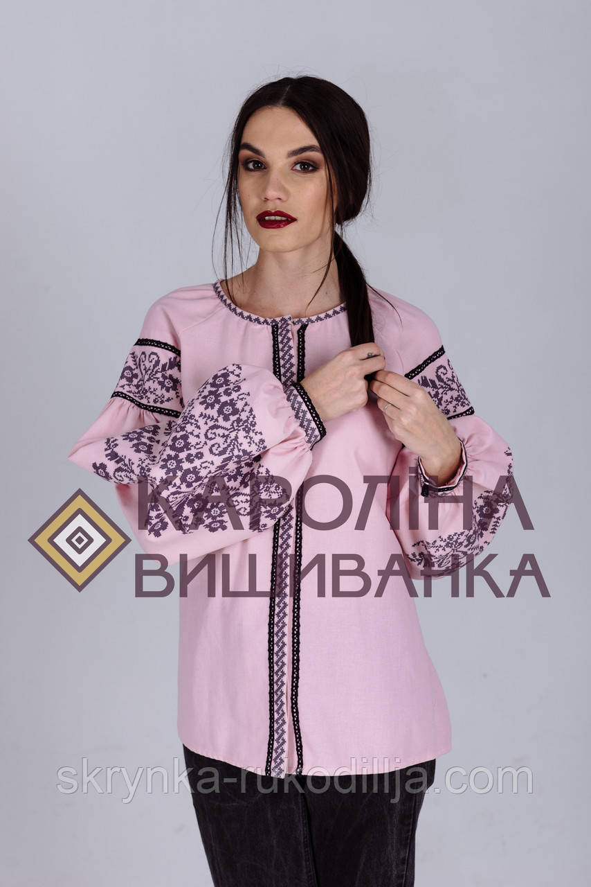 ... Заготовка непошита для вишивання бісером або нитками жіночої сорочки  вишиванки в стилі бохо 2bb43818a5cae