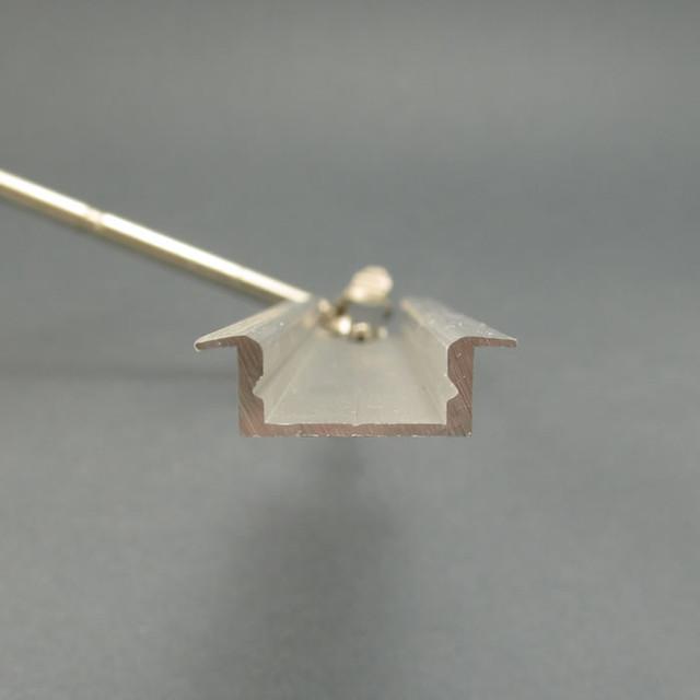 Профиль для светодиодной ленты встраиваемый 7 мм Фото