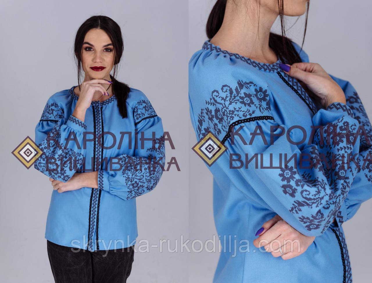 Заготовка непошита для вишивання бісером або нитками жіночої сорочки  вишиванки в стилі бохо - СКРИНЬКА. 2291ce405d5be