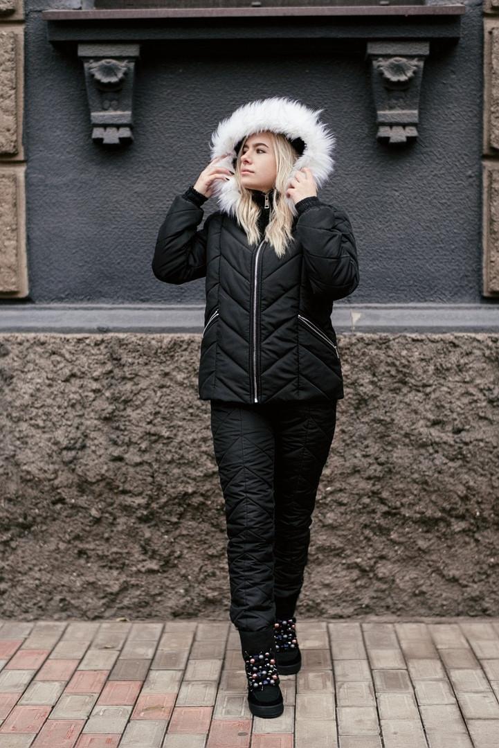 Зимний женский теплый костюм (К25592)