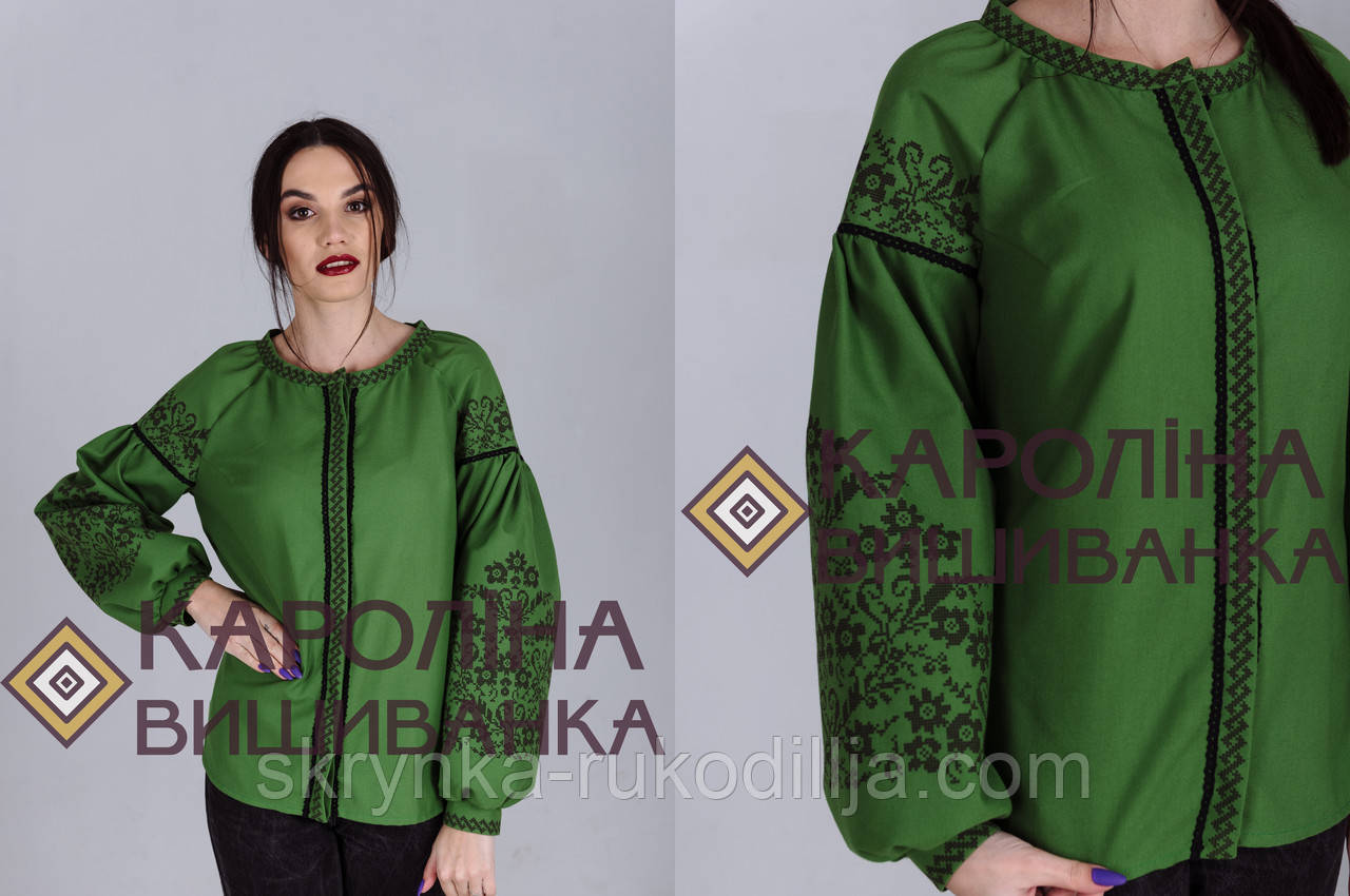 Заготовка непошита для вишивання бісером або нитками жіночої сорочки  вишиванки в стилі бохо 6160b7afa7bf8