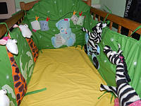 Защита (бортики) в детскую кроватку, фото 1