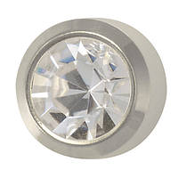 Серьги-гвоздики (пусеты) кристалл, фото 1