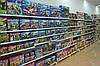 Новые стеллажи пристенные ВИКО для детских магазинов. Торговый стеллаж с полками для игрушек. WIKO (ВИКО) Киев