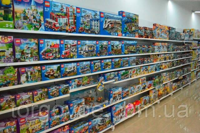Новые стеллажи пристенные ВИКО для детских магазинов. Торговый стеллаж с полками для игрушек. WIKO (ВИКО) Киев, фото 1