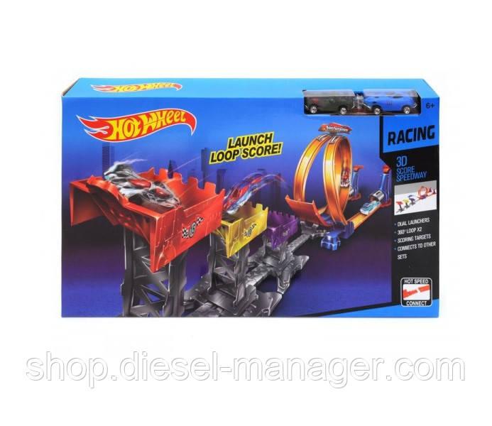 Трек-запуск с мертвой петлей Hot Wheel Kronos Toys 9988-66A (tsi_53366)