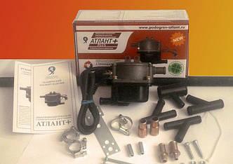 Предпусковой подогреватель двигателя Атлант Плюс1,5квт. с помпой