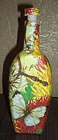 Сувенирная оригинальная красивая бутылка подарок