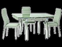 Стол обеденный стеклянный GD-082 Signal белый
