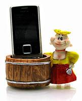 """Подставка под телефон """"украина """" (7,5х11х5 см)(w9001)"""