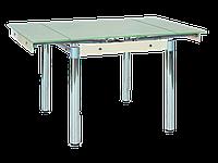 Стол обеденный стеклянный GD-082 Signal кремовый