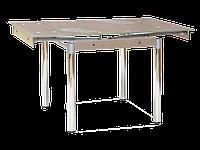 Стол обеденный стеклянный GD-082 Signal бежевый