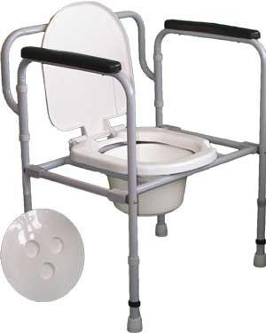 """Стілець-туалет складаний СТС 1.1.0 """"Шанс"""" (НТ-04-006)"""