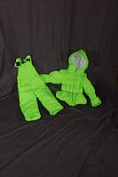 """Демисезонный костюм """"Ноль"""" на резинке зеленый"""