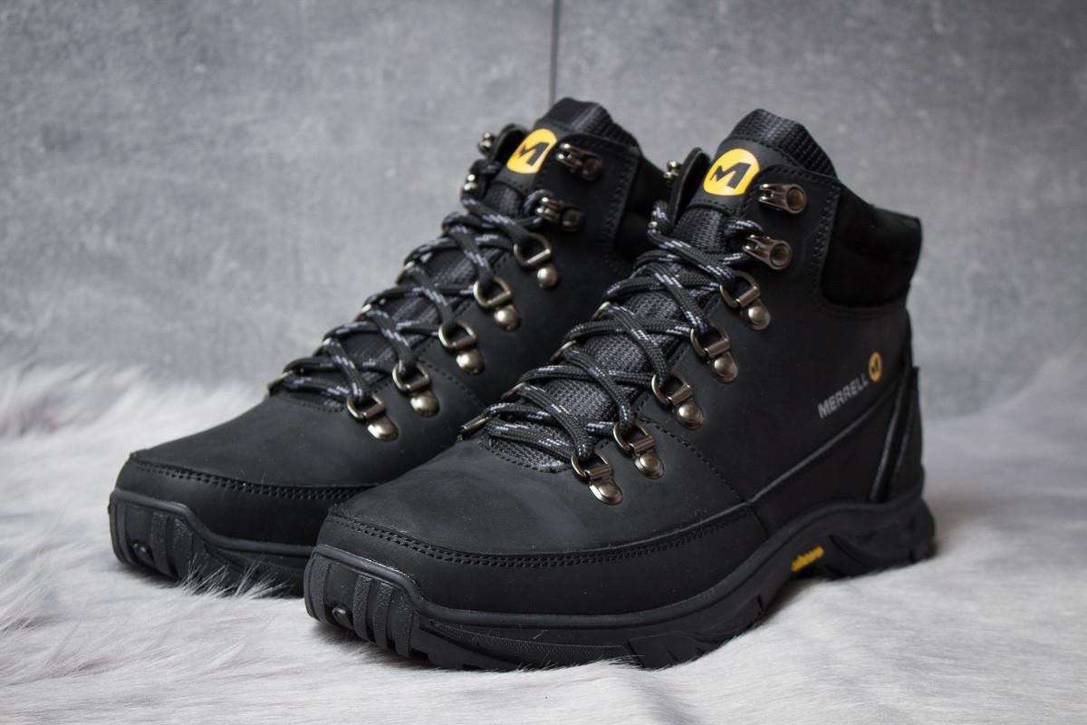 Зимние ботинки  на меху Merrell Vincere, черные (30961) размеры в наличии ► [  42 43  ]