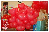 Сердце с гелием. Подарки для влюбленных