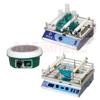 Перемешивающие устройства (магнитные, вибрационные, верхнеприводные)