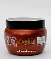 Маска с аргановым маслом и кератином  ECHOSLINE SELIAR KERATIN MASK 500 мл
