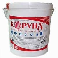 Жидкая теплоизоляция КОРУНД-ФАСАД, упаковка ведро 20 л