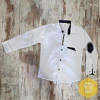 2db63c27f30 Рубашка белая для мальчиков 7-10 лет