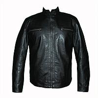 Мужские  куртки т.м.Dushi 1129 весна-осень из искусственной кожи оптом недорого.