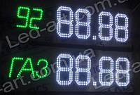 Светодиодное табло для АЗС LED-ART-Stela-200-12+, ценовой модуль для АЗС
