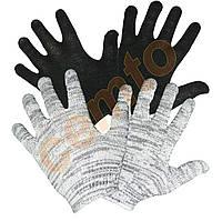 Перчатки рабочие вязаные  х.б. без ПВХ точки, рукавички в'язані бавовняні без ПВХ крапки, стрейч