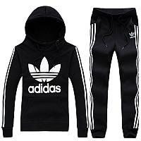 Женский спортивный костюм Adidas black