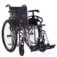 Коляска инвалидная OSD MILLENIUM III, ширина 36, хром + насос OSD-STC3