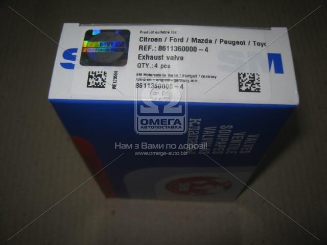 Клапан выпускной PSA 1.4HDi DV4TD (пр-во SM), 8611360000-4