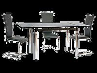 Стол обеденный стеклянный GD-018 Signal черный