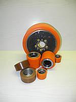 Колесо, восстановление полиуретанового покрытия, гуммирование, футеровка колёс и валов